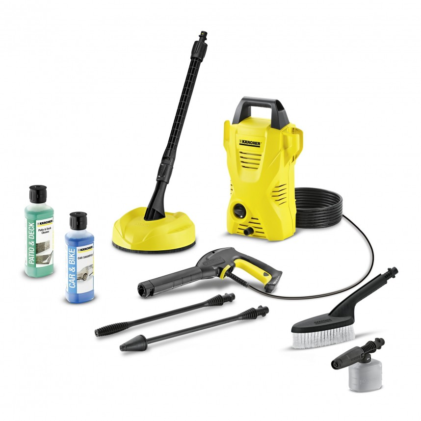 karcher k2 car home pressure washer compact patio